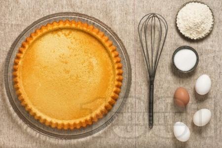 Основен пандишпанов блат за торта, рула и сладкиши - снимка на рецептата